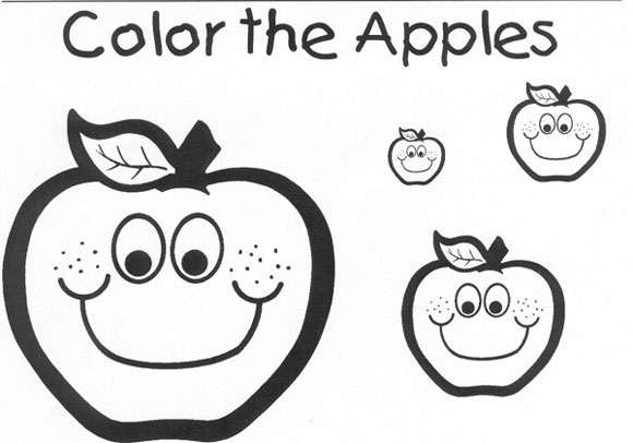Color The Apples